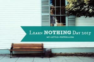 Learn Nothing Day 2015