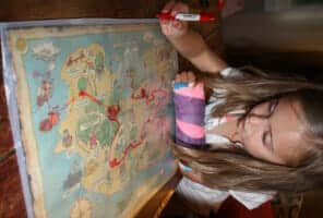 Super Simple Map Activity for Children