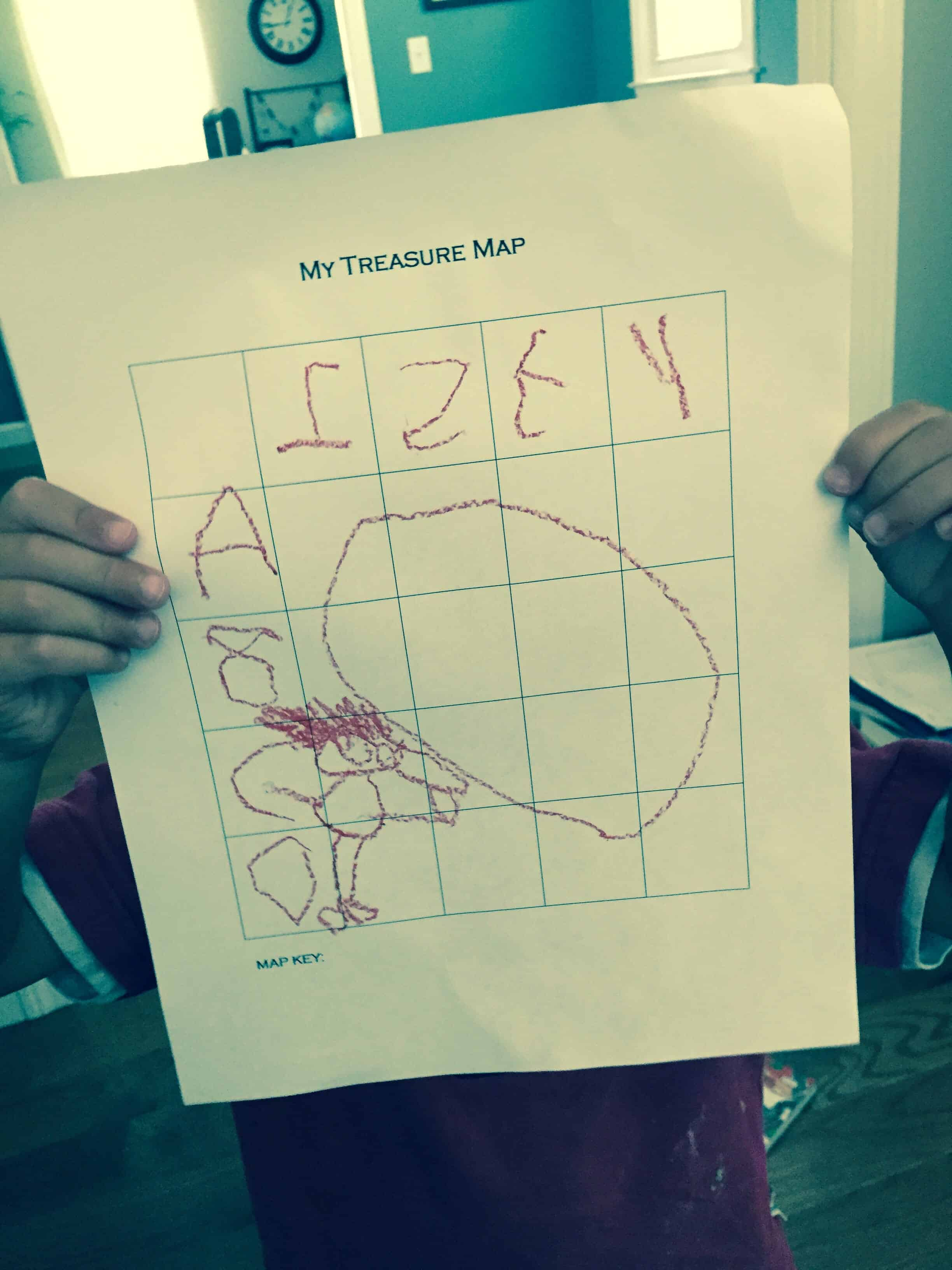 Treasure map grid activity my little poppies treasure map grid activity maxwellsz