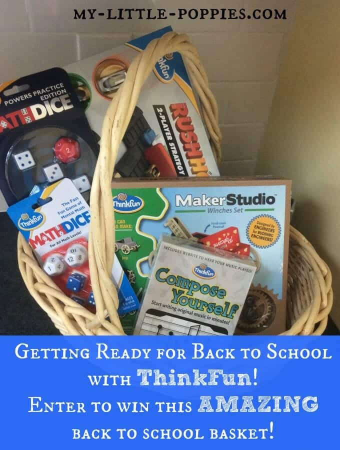 Getting Ready for Back to School with ThinkFun
