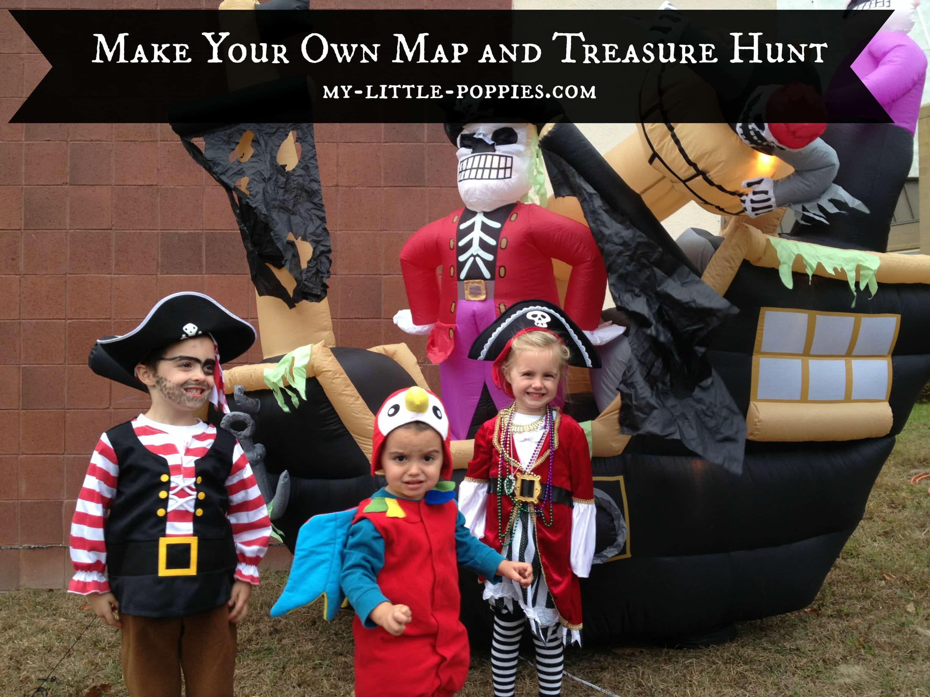 Make Your Own Map and Treasure Hunt