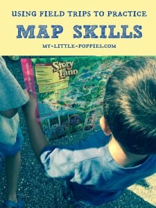 using field trips to practice map skills