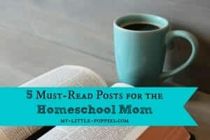 5 Must-Read Posts for the Homeschool Mom