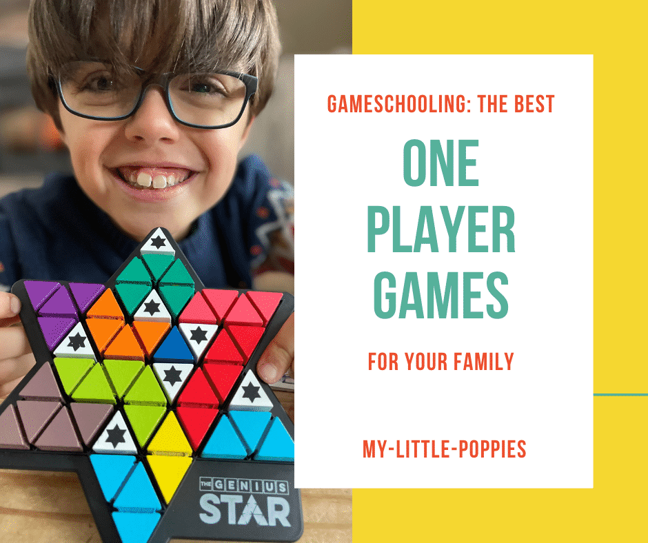The Best One-Player Games for Families | My Little Poppies