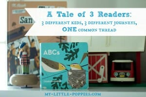 A Tale of Three Readers Three Different Kids, Three Different Journeys, One Common Thread