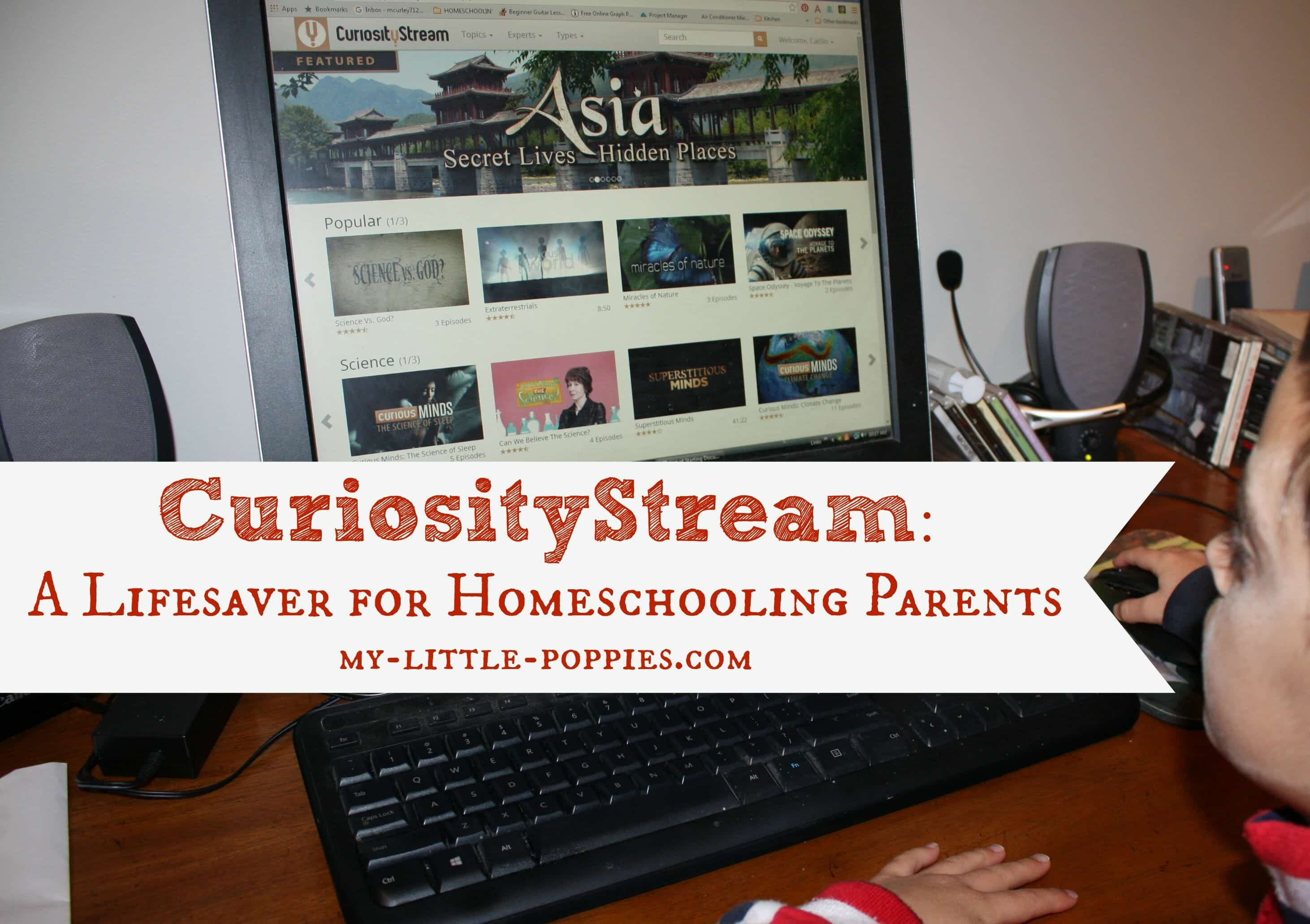 Curiosity Stream: A Lifesaver for Homeschooling Parents | My