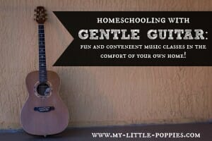 Homeschooling with Gentle Guitar