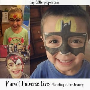 Marvel Universe Live Marveling at Our Journey