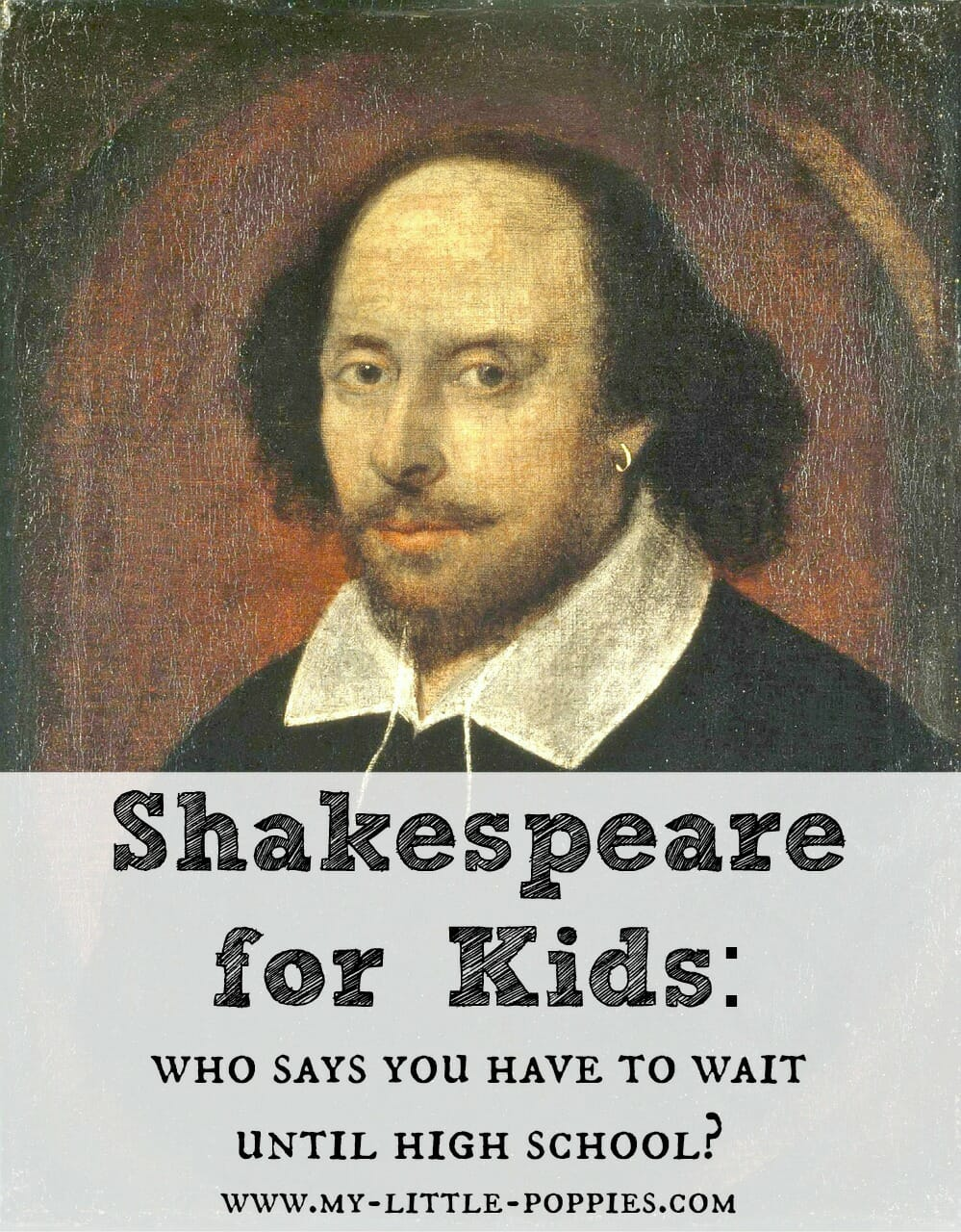 Books About Shakespeare For Kids