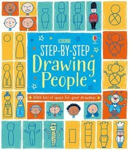 The Usborne Step-by-Step Drawing People