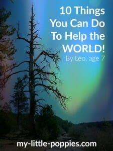 10 Things You Can Do To Help the WORLD!