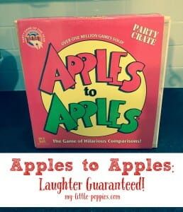 Apples to Apples Laughter Guaranteed!