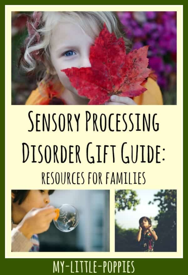 Sensory Processing Disorder Gift Guide: Resources for Families | My Little Poppies