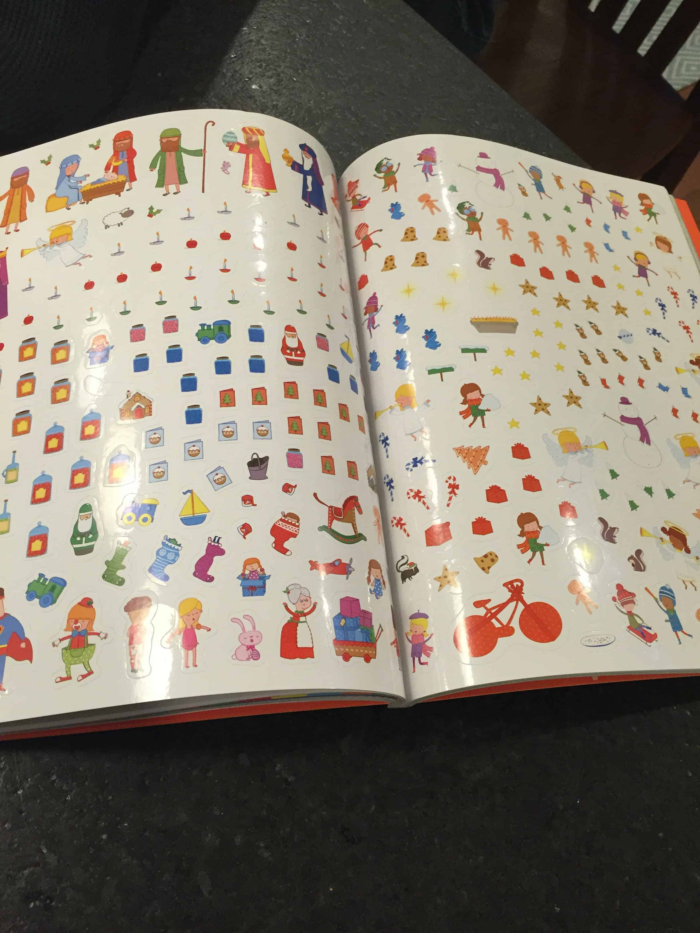 Christmas Sticker Book My Little Poppies Activity Books Big And Mighty