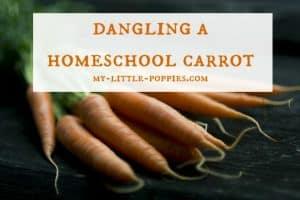 Dangling a Homeschool Carrot