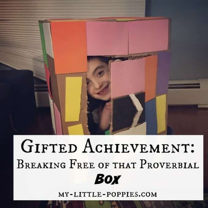 Gifted Achievement: Breaking Free of that Proverbial Box