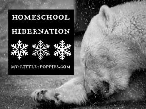 Homeschool Hibernation