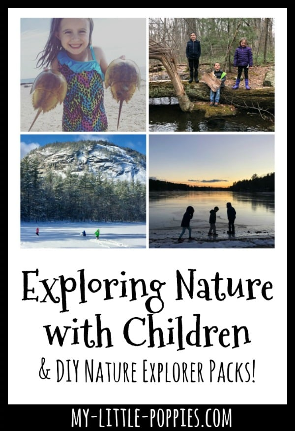 Exploring Nature with Children & DIY Nature Explorer Backpacks! | My Little Poppies