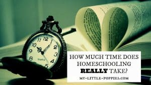 HOW MUCH TIME DOES HOMESCHOOLING REALLY TAKE