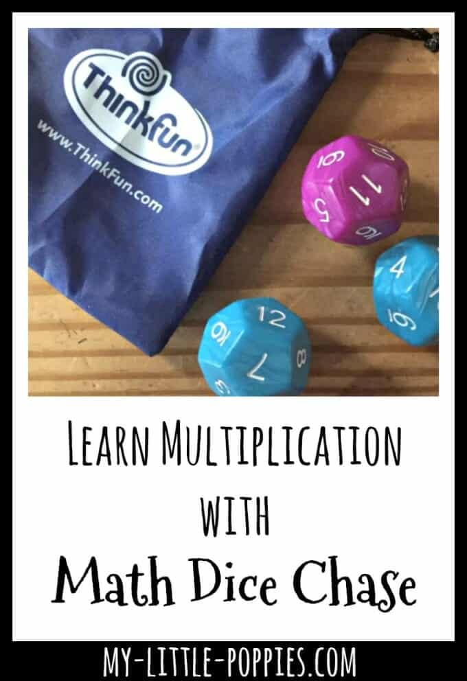 Learn Multiplication with Math Dice Chase | My Little Poppies