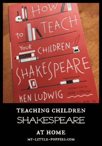 Ken Ludwig, Shakespeare, The Bard, homeschool, homeschooling, english, literature, William Shakespeare