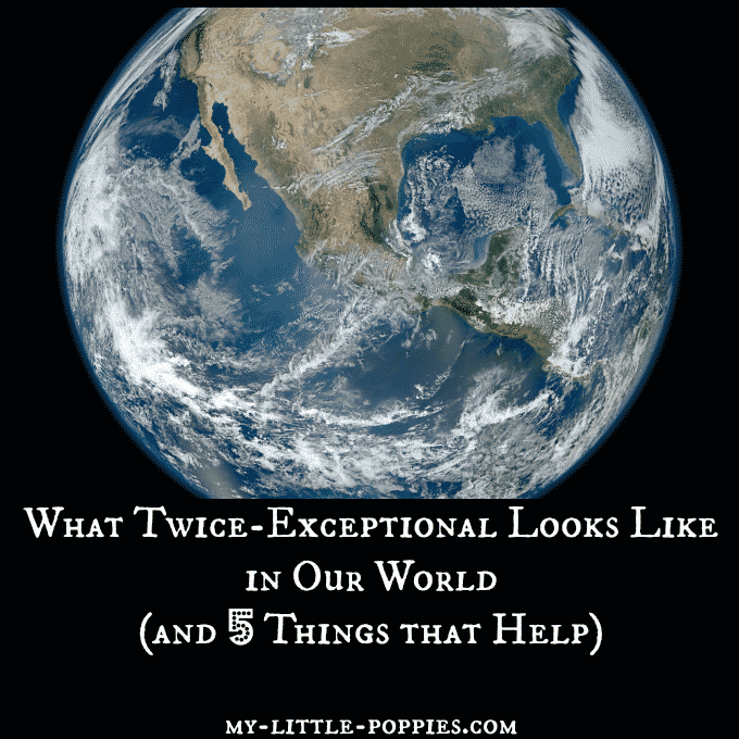 What Twice-Exceptional Looks Like in Our World (and 5 Things that Help!)
