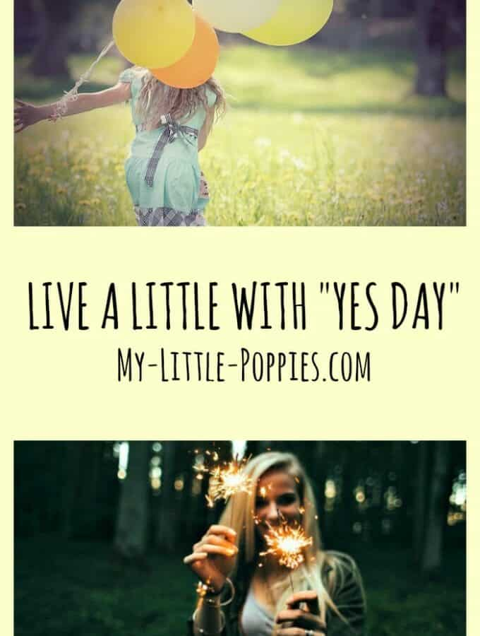 Live a Little with Yes Day, parenting, fun activities, child activities