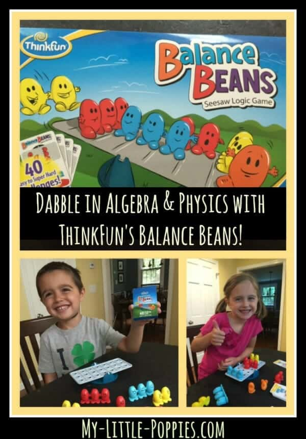 Dabble in Physics and Algebra with ThinkFun's Balance Beans! | My Little Poppies.com