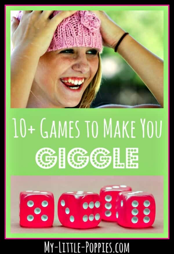 10+ Games to Make You Giggle My Little Poppies, funny games, family games, educational games, homeschool, homeschooling