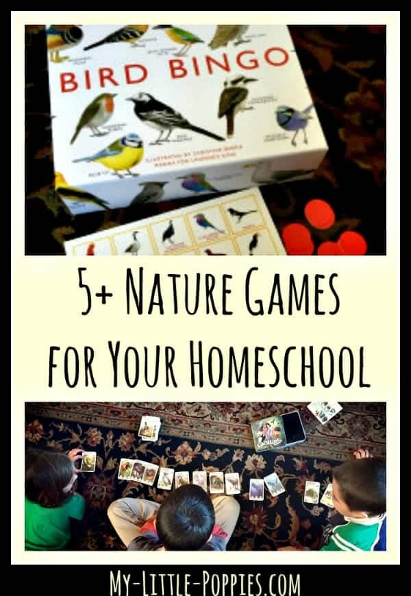 5+ Nature Games for Your Homeschool My Little Poppies