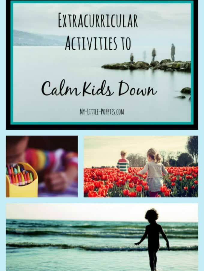Extracurricular Activities to Calm Kids Down pin