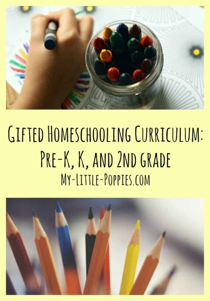 giftedness, gifted curricula, gifted learner, homeschooling gifted, gifted kids, Gifted Homeschooling Curriculum Pre-K, K, and 2nd grade