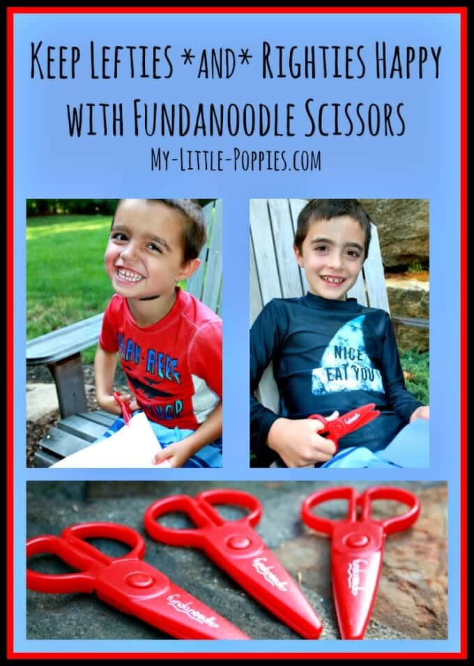 Keep Lefties and Righties Happy with Fundanoodle Scissors