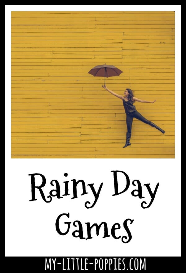 Rainy Day Games | My Little Poppies