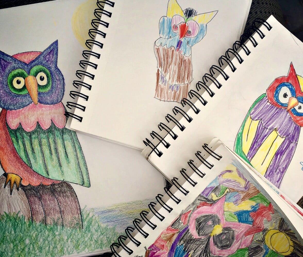 books children draw poppies class appreciation artists artist study happens