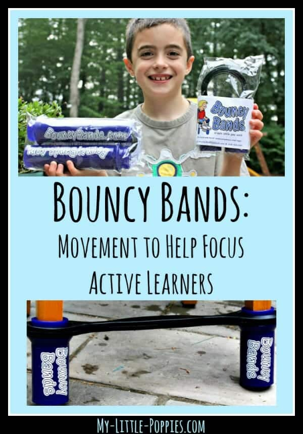 Bouncy Bands Help to Focus Active Learners