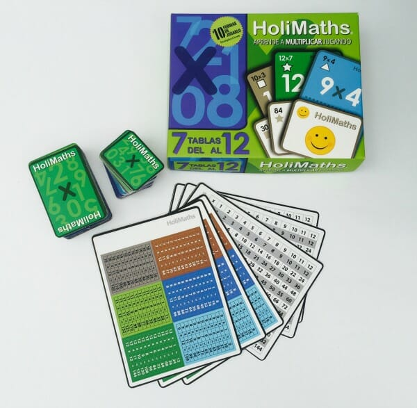 HoliMaths X: An Elementary Multiplication Math Game