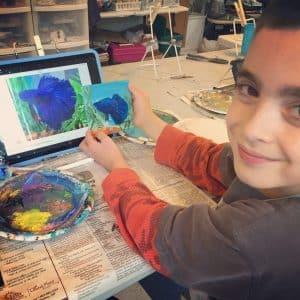 10-art-books-for-children-my-little-poppies, 10+ Art Books for Children | My Little Poppies, art study, artists, children's books, art books, homeschool, homeschooling, create, creativity, art class, art course, artist study, unit study, teaching art, art lessons, art appreciation, art for kids