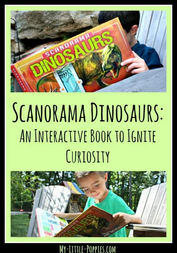Using interactive children's books to ignite curiosity, The scanorama series, silver dolphin books, homeschool, homeschooling, science books, dinosaur books, animal books, scanorama, children's books, interactive children's books, scanorama dinosaurs