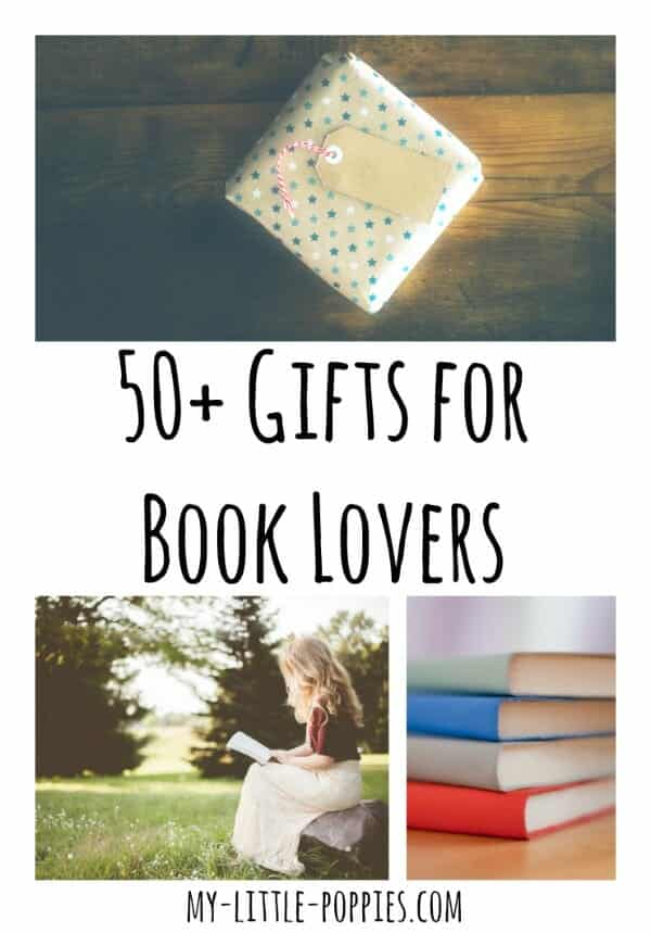 50+ Gifts for the Book Lover in Your Life | My Little Poppies