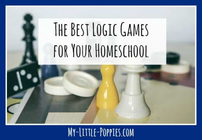 The Best Logic Games for Your Homeschool | My Little Poppies