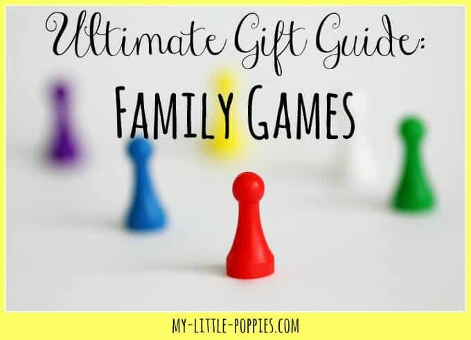 Gift Guides 2016 | My Little Poppies Ultimate Gift Guide: Family Games | My Little Poppies Here is the ultimate list of the best family games on the market today, as tested by a school psychologist, proponent of play-based education, mom to three, unexpected homeschooler.
