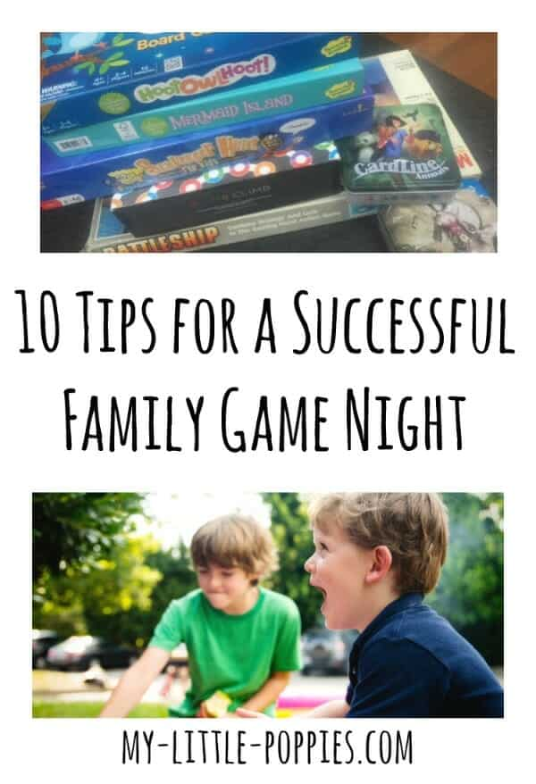 10 Tips for a Successful Family Game Night