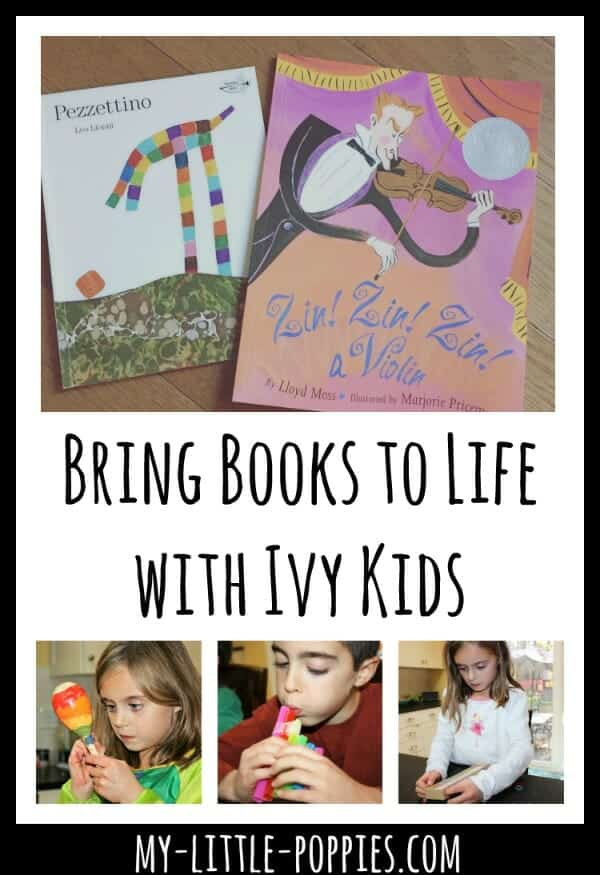 Bring Books to Life with Ivy Kids | My Little Poppies