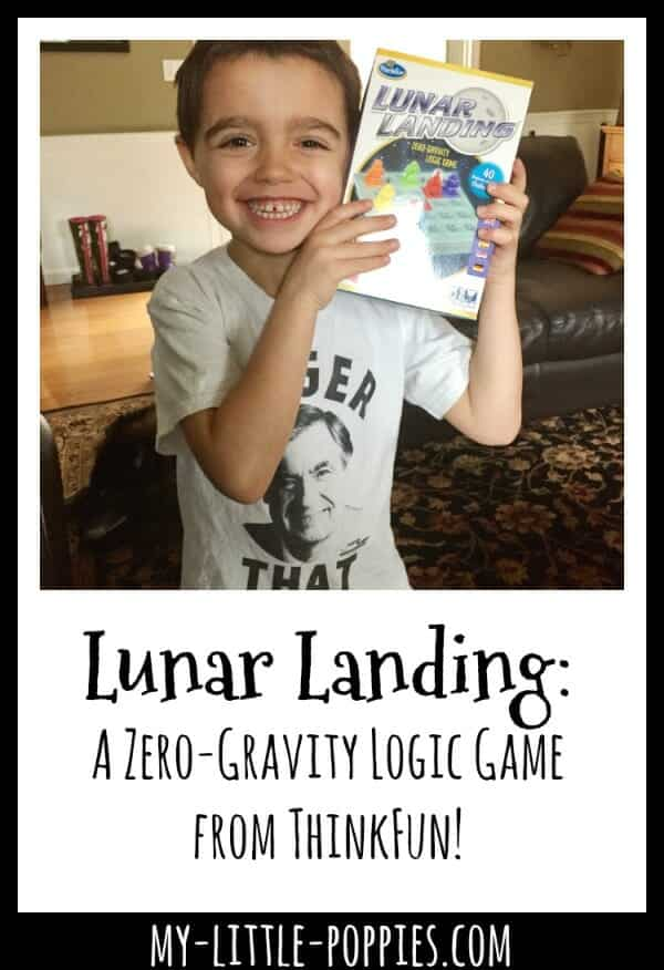 Lunar Landing: A Zero-Gravity Logic Game! | My Little Poppies