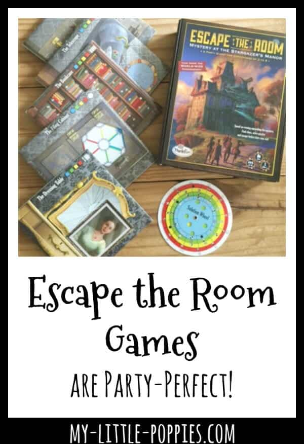 ThinkFun's Escape the Room Games are Party-Perfect! | My Little Poppies