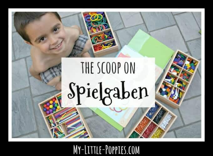 Using Spielgaben in Your Homeschool: The Scoop on Spielgaben | My Little Poppies
