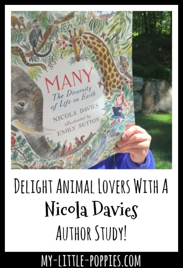 Delight Animal Lovers With A Nicola Davies Author Study! | My Little Poppies