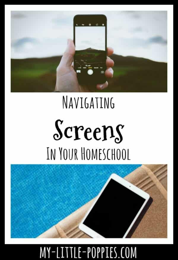 Using Screens In Your Homeschool | My Little Poppies