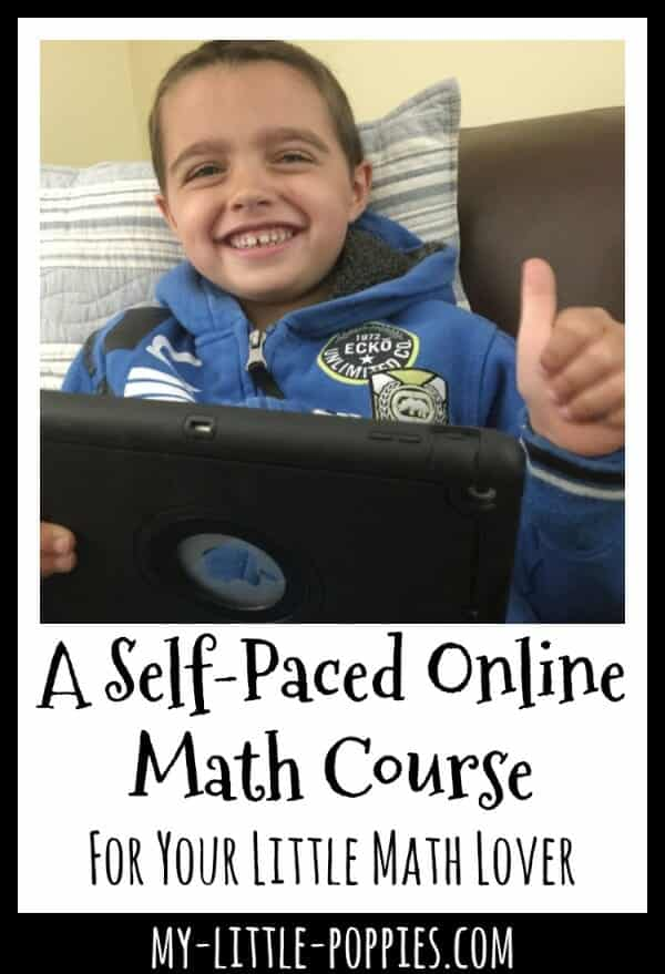 A Self-Paced Online Math Course for Homeschoolers | My Little Poppies